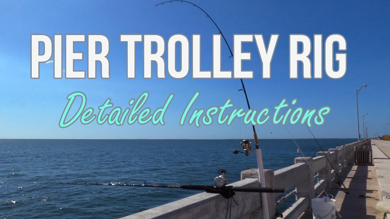 How to setup a pier fishing trolley rig part two for Pier fishing rigs