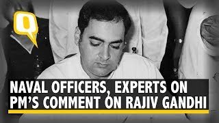 Senior Naval Officers & Experts React to PM Modi's Comment on INS Viraat, Rajiv Gandhi | The Quint
