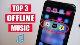 Top 3 FREE Music Apps For iPhone & Android! (Offline Music - 2020)