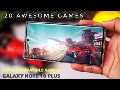 20 Awesome Games on Galaxy Note 10 Plus