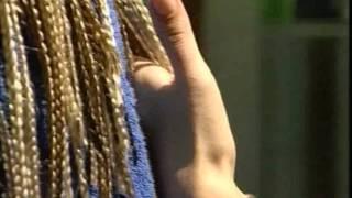 Плетение африканских косичек видео урок часть 3