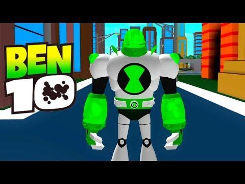 Ben 10 NEW Alien ATOMIX Update Roblox Ben 10 Arrival of Aliens