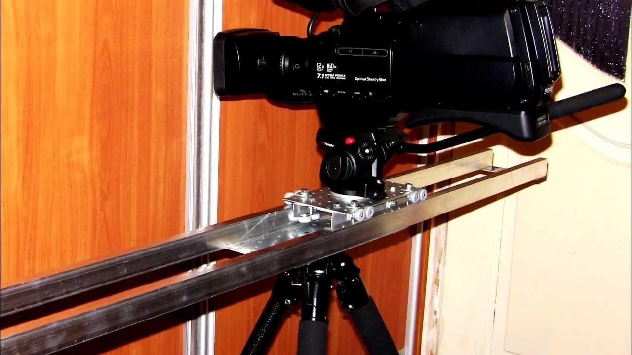 Слайдеры для видео своими руками