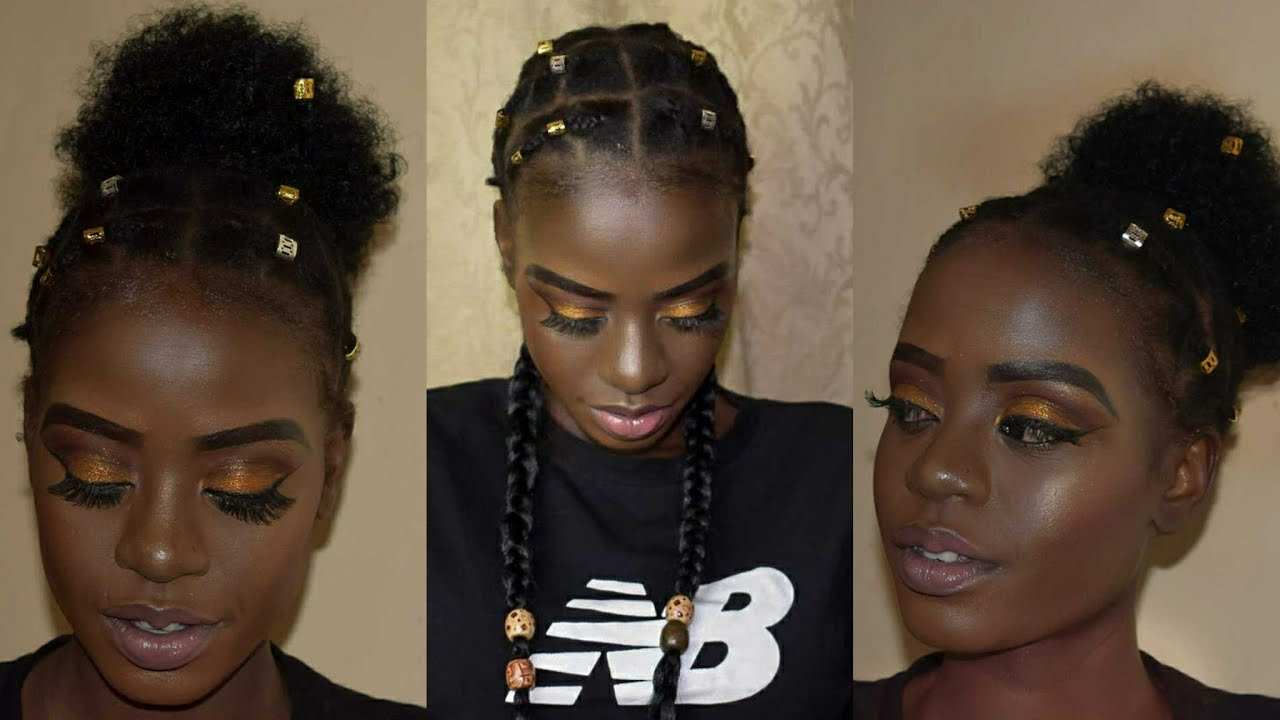 Protective Hairstyles For Short Natural Black Hair Find Your