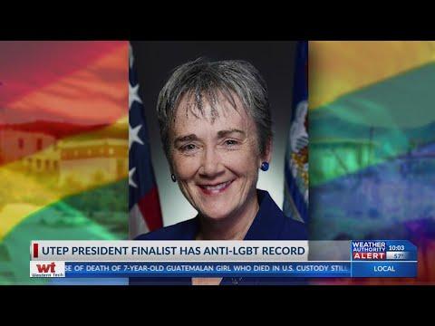 UTEP President Finalist Heather Wilson Has Anti-LGBTQ Record