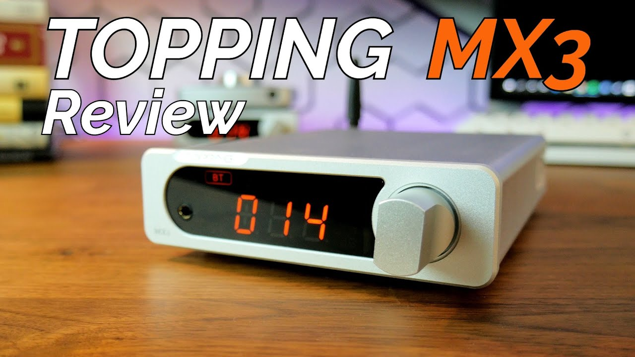 The BEST Mini Desktop Amplifier You Don't Know About | Topping MX3 Stereo DAC/Amplifier Review