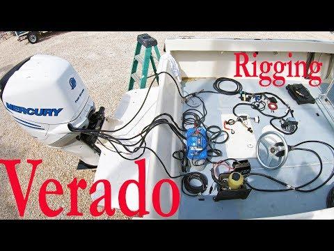 How To Rig A Mercury Verado!