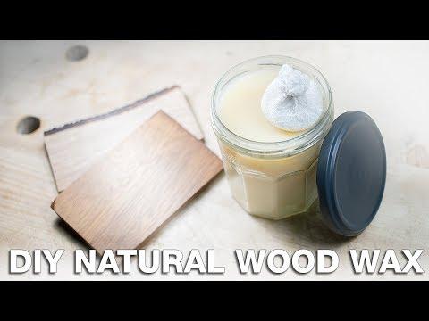 How to make natural wood wax