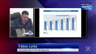 Audiência pública 13/07/2018 - Lei de Diretrizes Orçamentárias 2019
