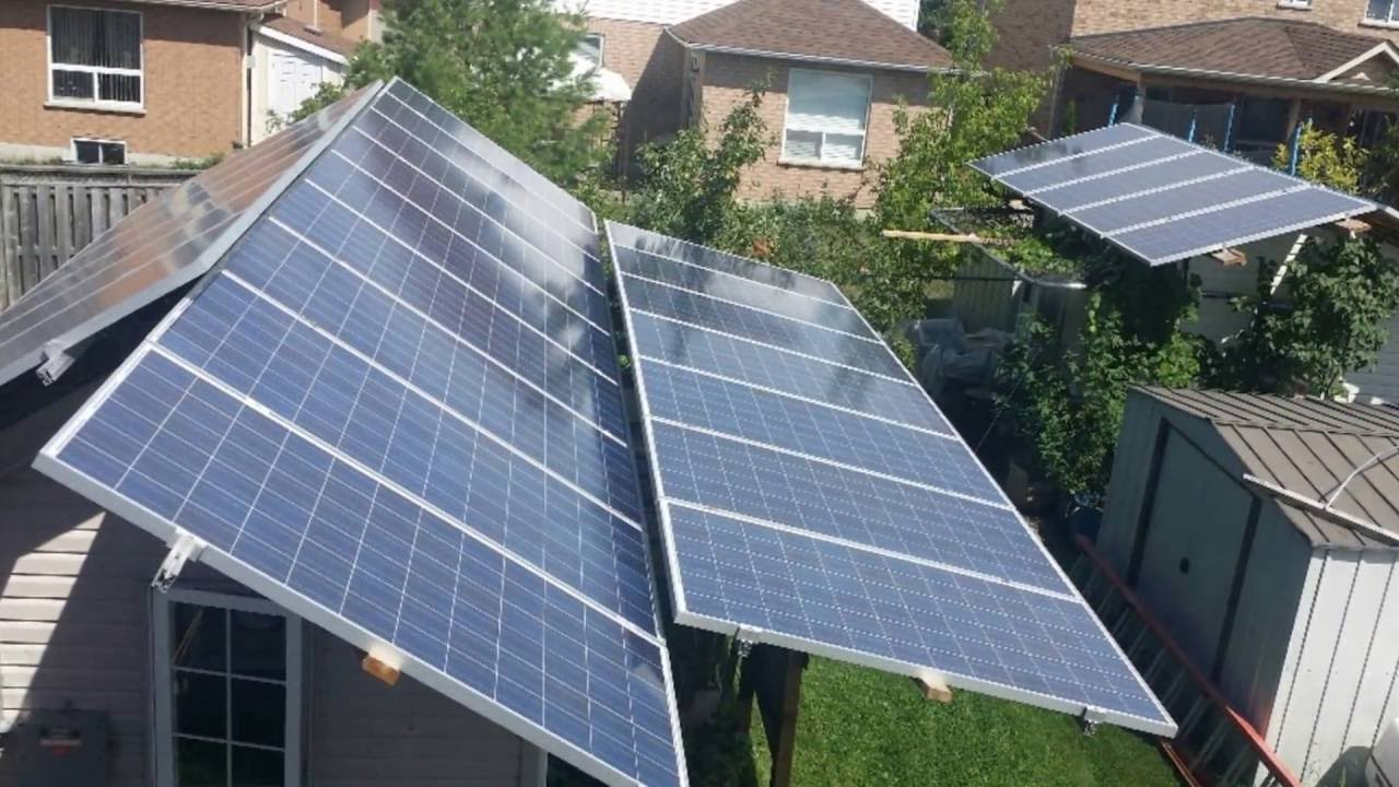 Attrayant 10 Kw Of Solar In My Backyard