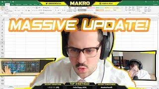 MAKRO | Microsoft Excel Stream Highlights 3/19