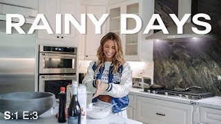 RAINY DAY VLOG // SIERRA SKYE MAKING PANCAKES!!!