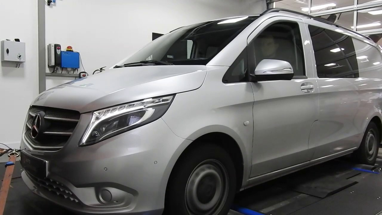 software upgrade mercedes vito w447 116cdi on dyno auto. Black Bedroom Furniture Sets. Home Design Ideas