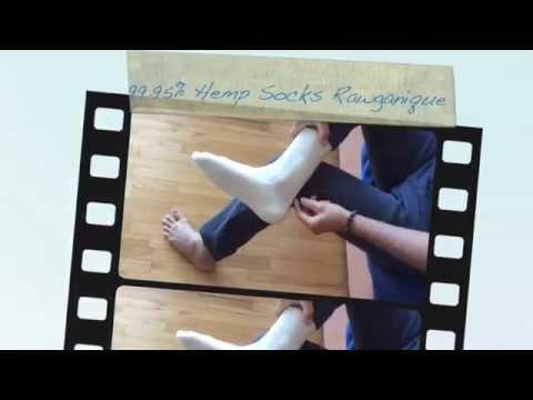 Organic Hemp Socks Rawganique