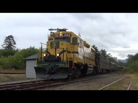 Conway Scenic Railroad Red Ball Special: Whitefield Diamond to Glen