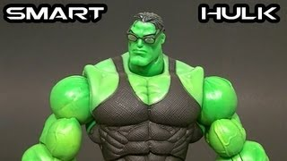 Marvel Legends Hulk Classics SMART HULK Figure Review