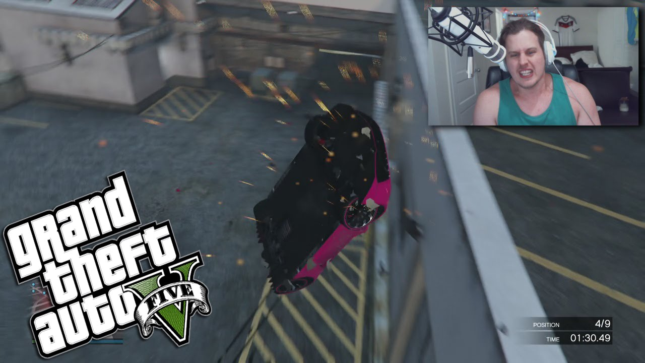 CRAZY HOLY RAMPS GTA RACE! GRAND THEFT AUTO 5 (FUNNY MOMENTS)
