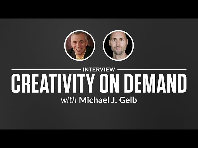 Optimize Interview: Creativity on Demand with Michael J. Gelb