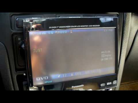 hqdefault panasonic cq vd7005u in dash dvd touch screen youtube panasonic cq vd7005u wiring diagram at alyssarenee.co