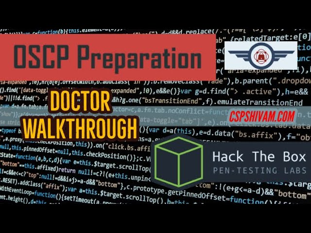 HackTheBox Doctor Walkthrough