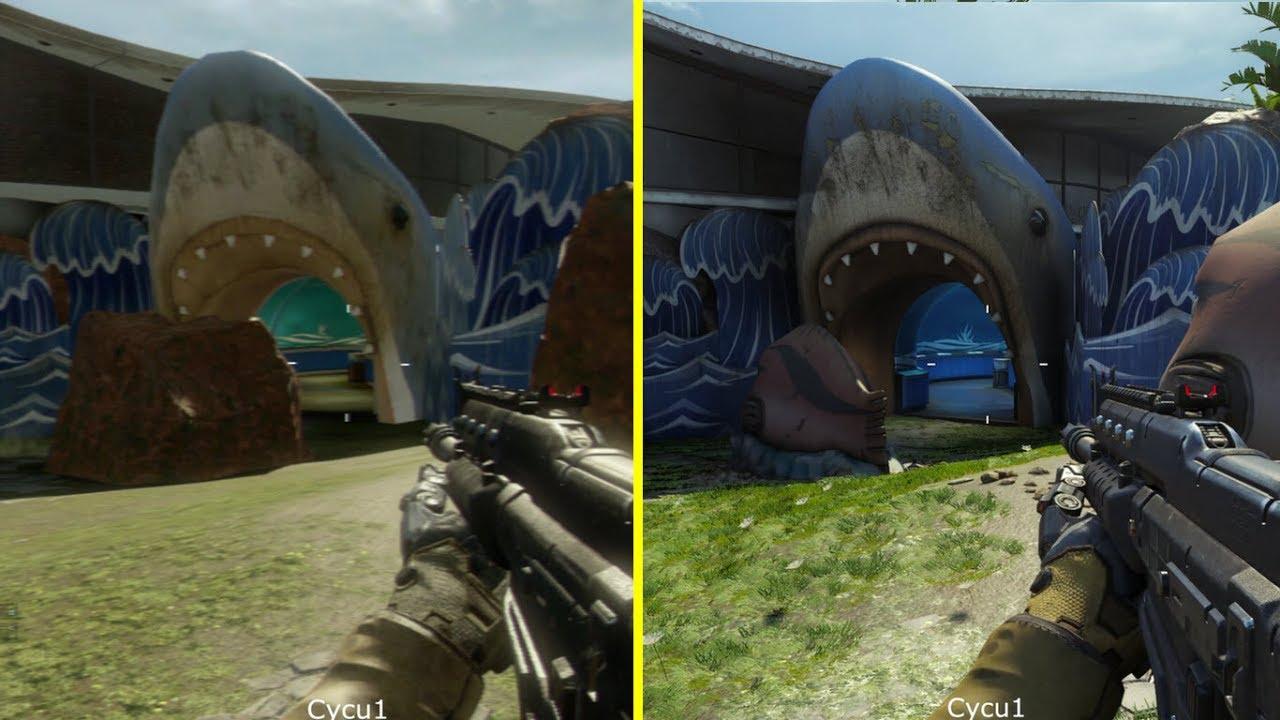 Call of Duty Black Ops 3 PS3 vs PS4 Graphics Comparison