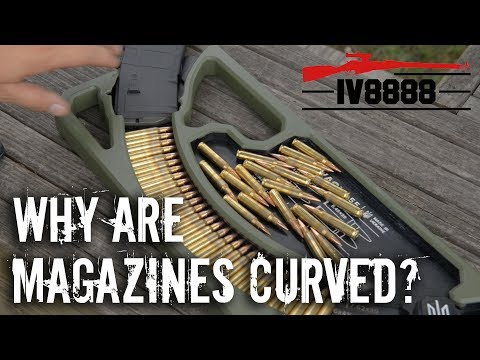 Firearms Facts: Why Are Some Magazines Curved?