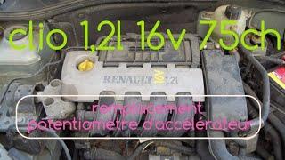 #81 Remplacement potentiomètre d'accélérateur