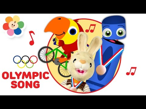 Rio 2016 Olympics song for Kids | Ready, Set, Sports! 2016 Summer Games Song for Children| BabyFirst