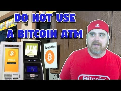 Do Not Use A Bitcoin ATM (BTC ATM Review)