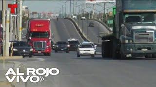Hombres armados persiguen a una familia migrante en México | Al Rojo Vivo | Telemundo