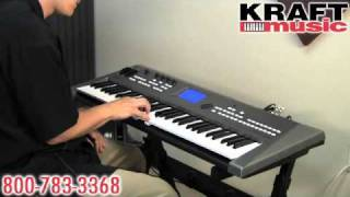 Kraft Music - Yamaha MM6 and MM8 Demo with Tony Escueta