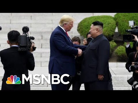 Symbolism Over Substance: President Donald Trump Steps Into N. Korea | Morning Joe | MSNBC