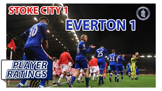 Stoke City 1-1 Everton | EFC Player Ratings