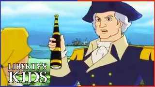 Liberty's Kids 114 - The First Fourth of July with Washington! | History Cartoons for Children