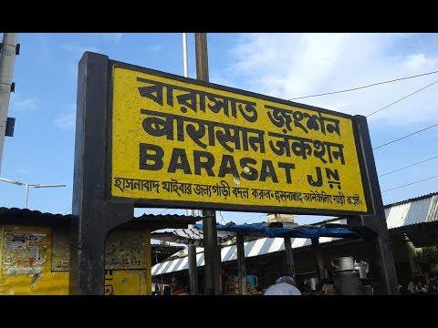 EMU Local train And Barasat Station Indian Eastern Railway Kolkata Teller Reviews thumbnail