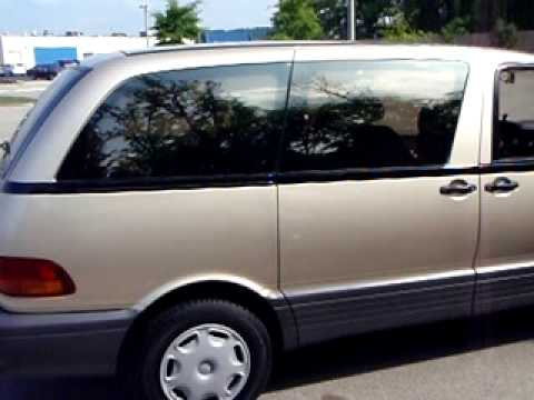 super charge 96 toyota previa van youtube. Black Bedroom Furniture Sets. Home Design Ideas
