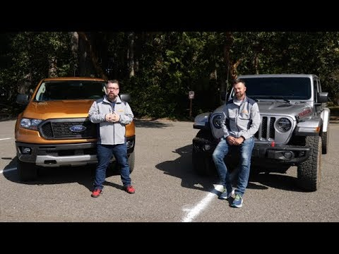 Ford Ranger vs Jeep Gladiator Truck Comparison: Which is Best?
