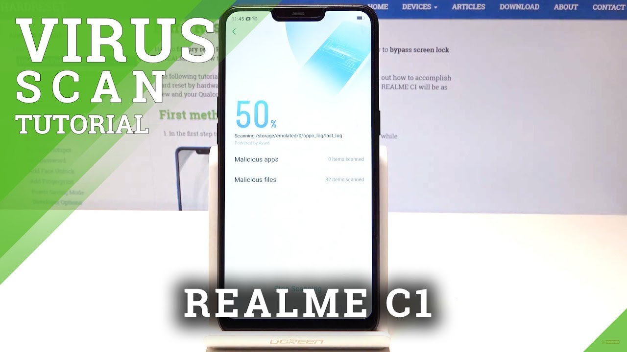 How to Perform Virus Scan / Security Scan in REALME C1, Видео