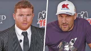 Canelo Alvarez vs. Sergey Kovalev FULL PRESS CONFERENCE | DAZN Boxing