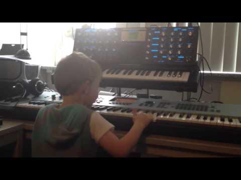 Wunderkind on Yamaha Motif and Moog Voyager