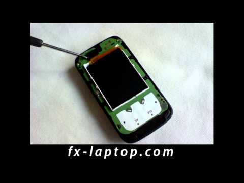 Disassembly Nokia 5200 - Battery Glass Screen Replacement