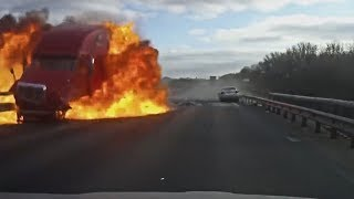Best Car Crash and Dashcam Russian Compilation  - January 2019
