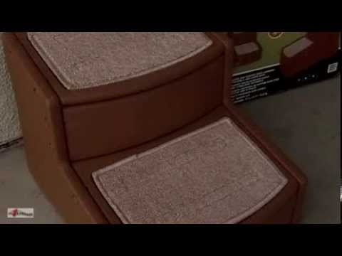 Pet Stairs for Dogs & Cats ~ Easy Step II by Pet Gear Mini Review