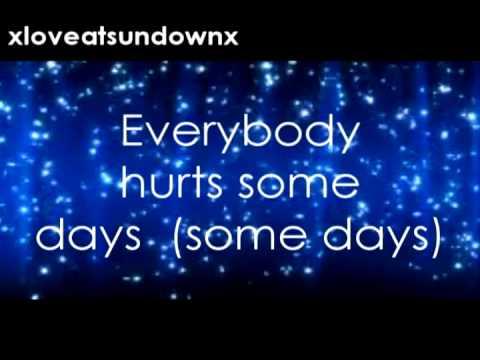 Everybody Hurts (Avril Lavigne) Lyrics