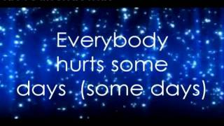 Everybody Hurts (Avril Lavigne) Lyrics