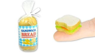 Enjoy learning how to make an edible mini sandwich DIY with Minitur...