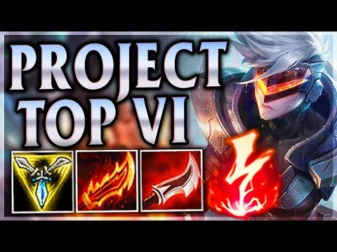 UPGRADED ENRAGED FISTS! BLASTING THEM OUTTA HERE! Project Vi Top - League of Legends Commentary