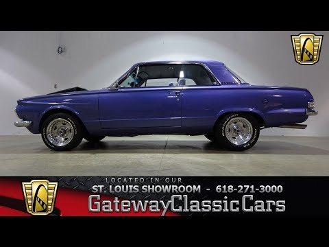 1963 Plymouth Vailant Stock #7440 Gateway Classic Cars St. Louis Showroom