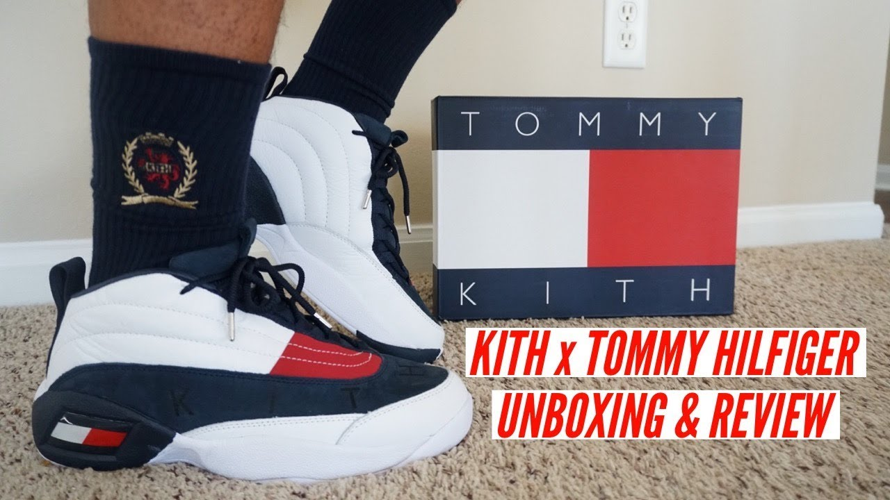 60be3a7fcbaaa KITH x TOMMY HILFIGER UNBOXING REVIEW   ON FEET MUST WATCH BEFORE BUYING