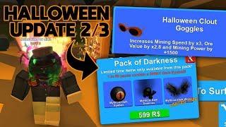 HALLOWEEN UPDATE 2/3 👻 (NEUE CODES!) | ROBLOX Mining Simulator Gameplay